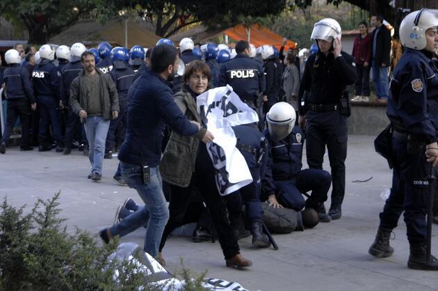 Halkevleri üyelerine polis müdahalesi: 14 gözaltı