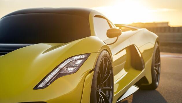 Dünyanın yeni en hızlı otomobili: Hennessey Venom F5 fotoğrafları