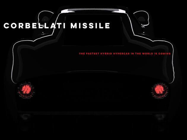 Saatte 500 kilometre hız vadediyor: Corbellati Missile fotoğrafları