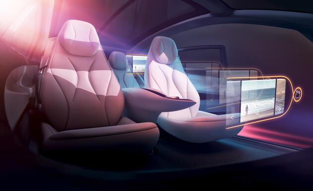 Volkswagen I.D. Vizzion concept fotoğrafları