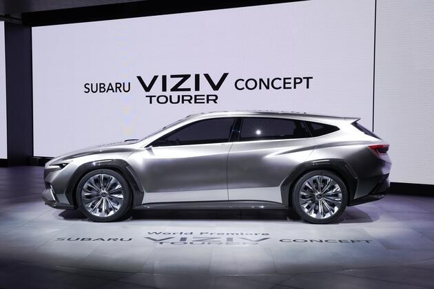 İşte Subaru VIZIV Tourer Concept tanıtıldı