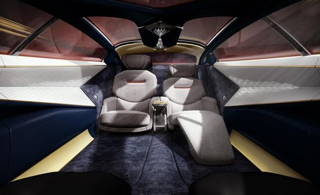 2019 Aston Martin Lagonda Vision concept fotoğrafları