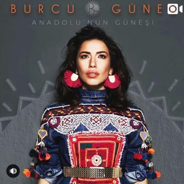 Burcu Güneş'ten şaşırtan albüm: Anadolu'nun Güneşi