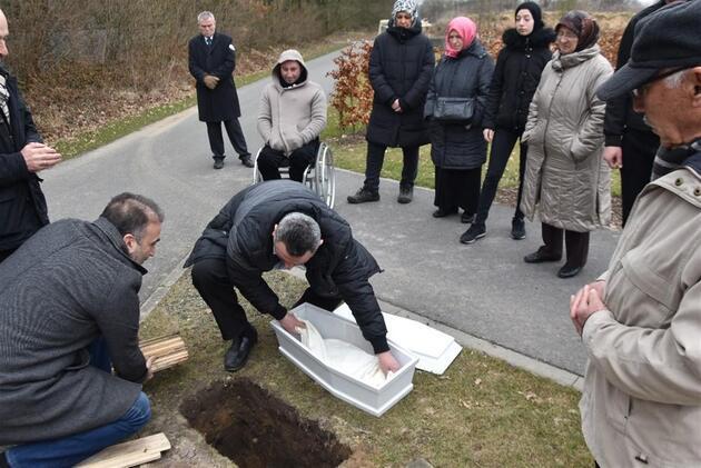 Serpil bebeğin cenazesi 36 yıl sonra nakledildi