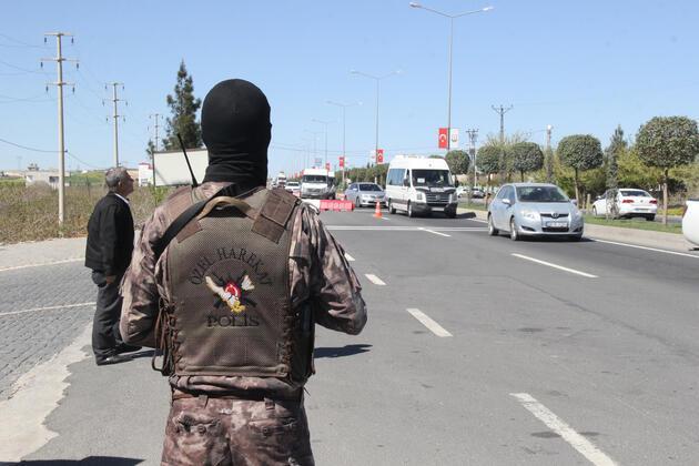 Şanlıurfa'da Abdullah Öcalan'ın doğum günü alarmı