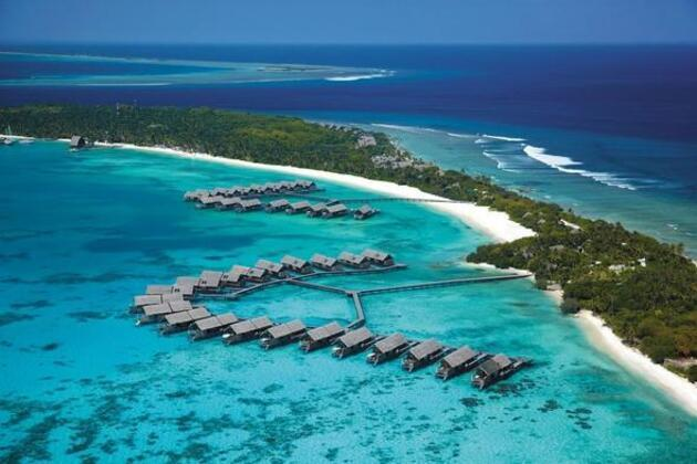 Murat Yıldırım doğum gününü Maldivler'de kutladı