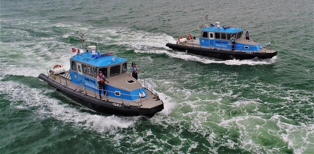 İstanbul Boğazı'nın 'koruyucu melekleri': 5 kadın deniz polisi