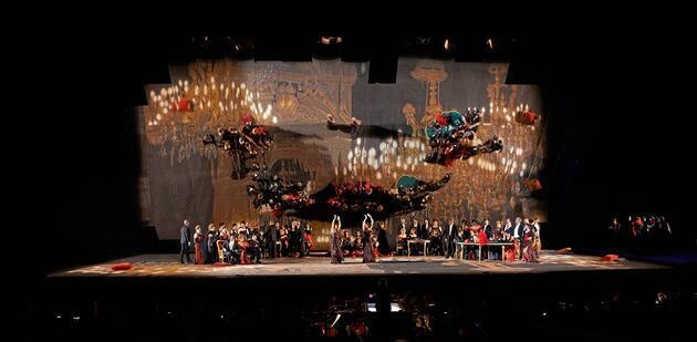 """""""La Traviata"""" bu akşam İstanbul Opera Festivali'nde"""