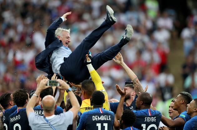 2018 Dünya Kupası şampiyonu Fransa oldu