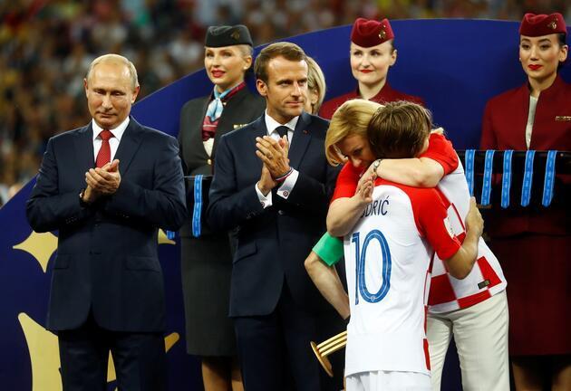 2018 Dünya Kupası'nın en iyileri açıklandı