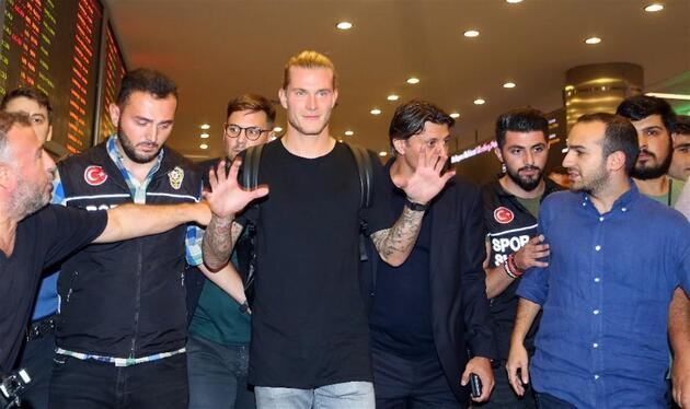 Loris Karius İstanbul'a geldi