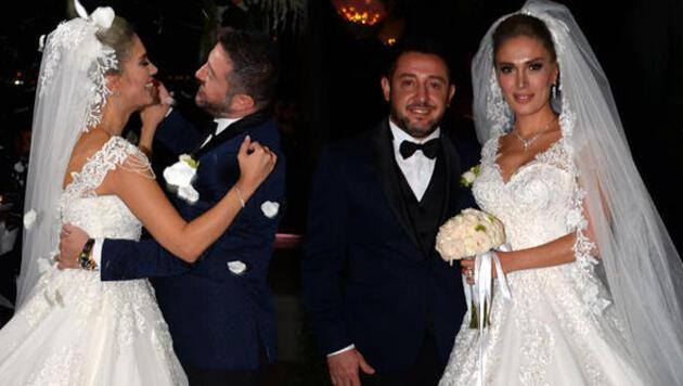 Nihat Kahveci Boğaz'da düğün yaptı