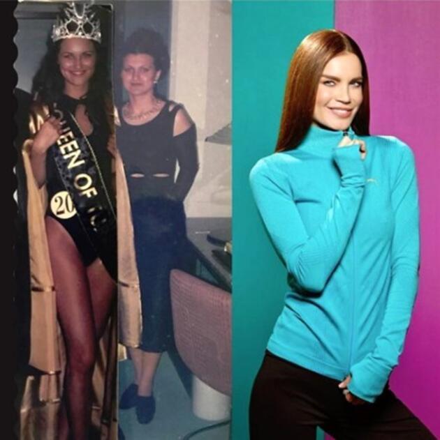 Güzellik kraliçelerinden yeni moda