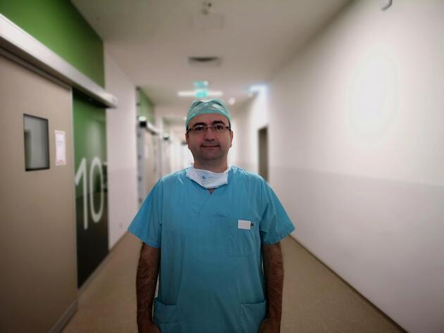 Prof. Dr. Volkan Tuğcu geliştirdiği yöntemle tıp literatüründe: İtalyan cerrahları eğitti