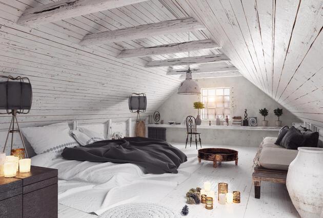 Tavan arasından rüya eve 10 fikir