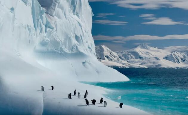 Gezegenimiz belgeselinden ilk fotoğraflar