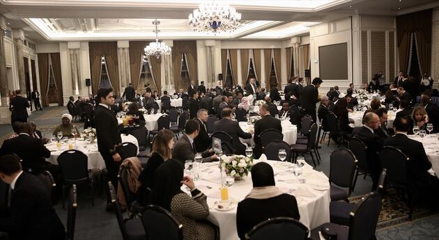 Cumhurbaşkanı Yardımcısı Oktay'dan İSEDAK onuruna yemek