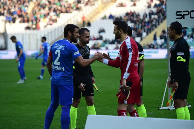 Bursaspor tribünlerini coşturan futbolcu