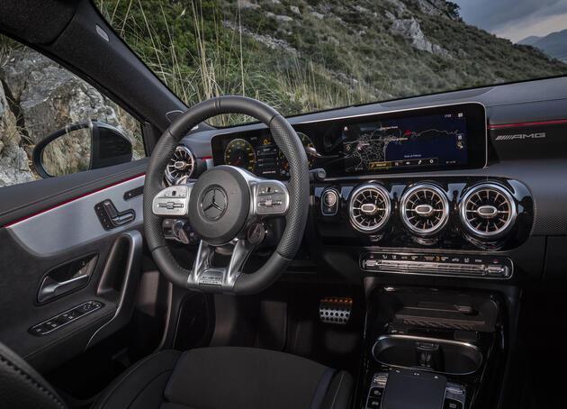 Mercedes'ten 306 beygirlik A 35 4MATIC