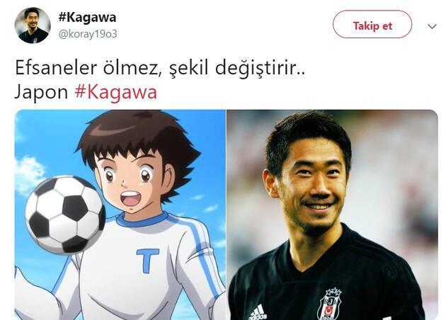 Shinji Kagawa Twitter'ı salladı