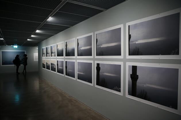 Orhan Pamuk'tan sergi: Balkon Fotoğraflar