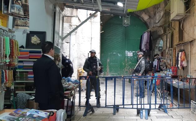 Son dakika: Mescid-i Aksa'nın tüm kapıları yeniden açıldı