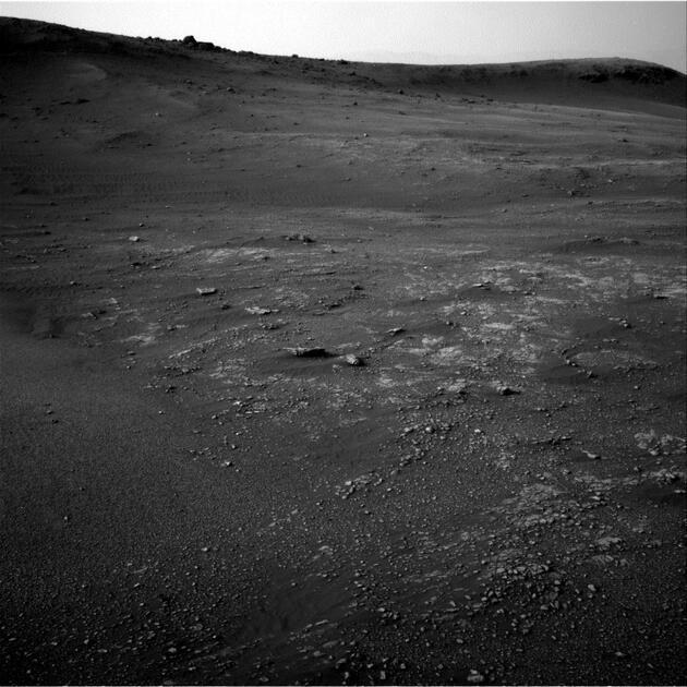 Mars'ta tartışma yaratan gizemli görüntü: Sosyal medya ikiye bölündü