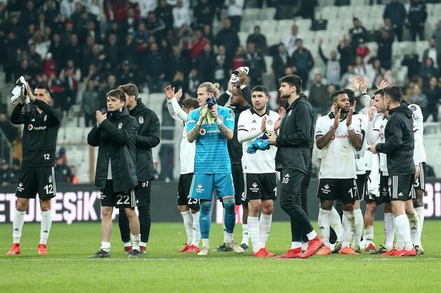 Beşiktaş protesto sesleri altında kazandı