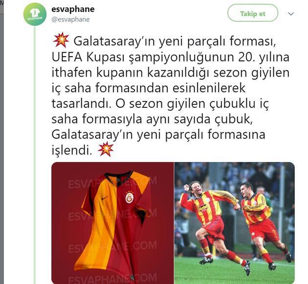 Galatasaray'ın yeni sezon forması sızdı