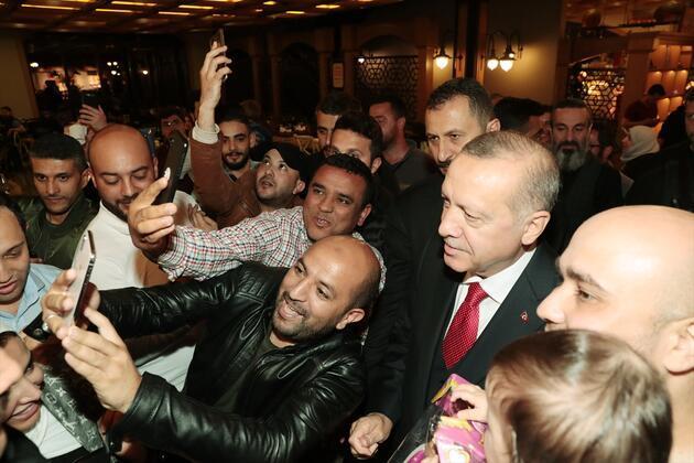 Cumhurbaşkanı Recep Tayyip Erdoğan'dan sürpriz ziyaret