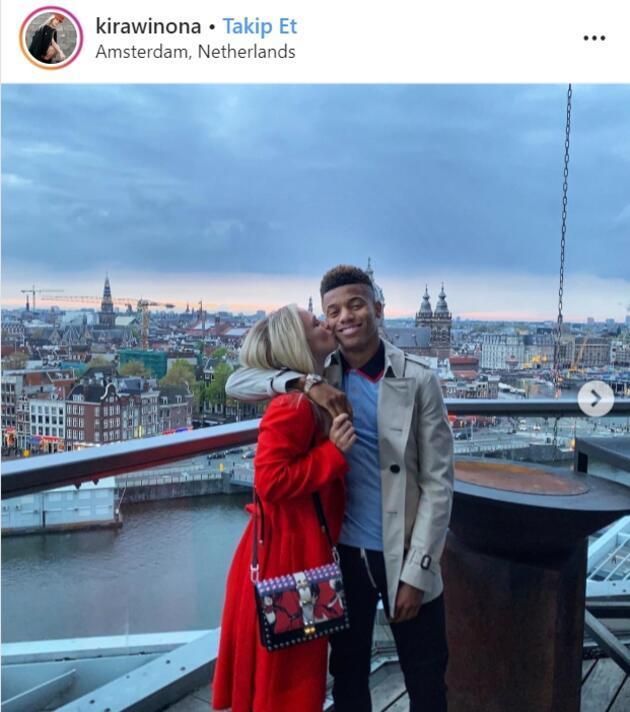 David Neres: Instagram'da gördüm mesaj attım