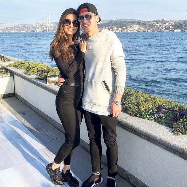 İşte Amine Gülşe ile Mesut Özil balayı planı!