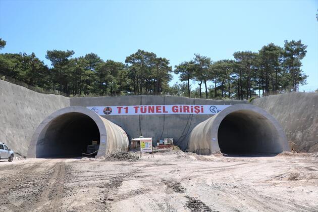 Kazdağları rampaları tünellerle kolay aşılacak