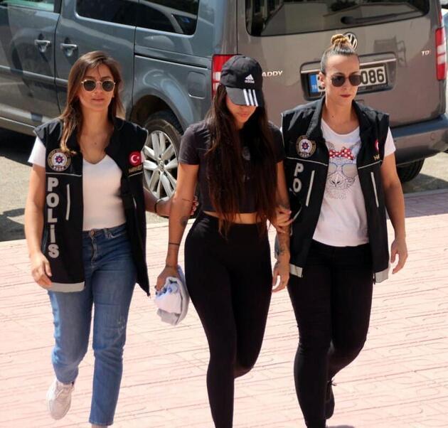 'Yerli Kim Kardashian' gözaltına alındı