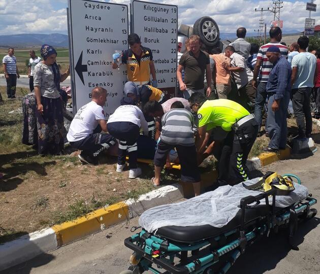 Samsun'da feci kaza! Çok sayıda yaralı var!