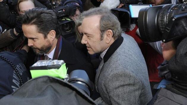Kevin Spacey hakkındaki taciz davası düşürüldü