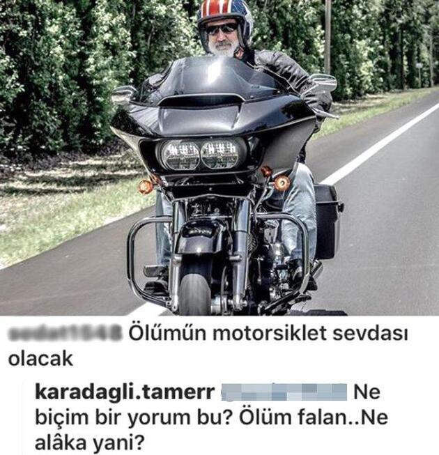 Oyuncu Tamer Karadağlı'yı kızdıran ölüm yorumu!