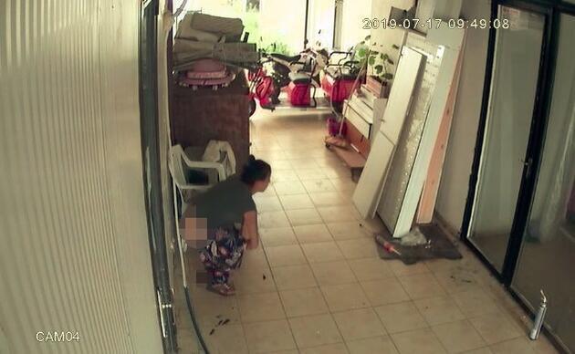 Antalya'da iğrenç olay! Hırsızlık için girdiği iş yerine tuvaletini yapıp gitti