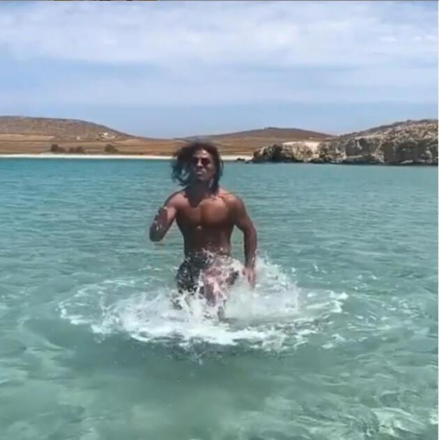 Nusret denizde spor yaptı