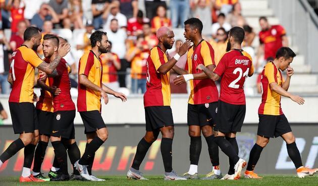 Galatasaray'da forma numaraları değişti
