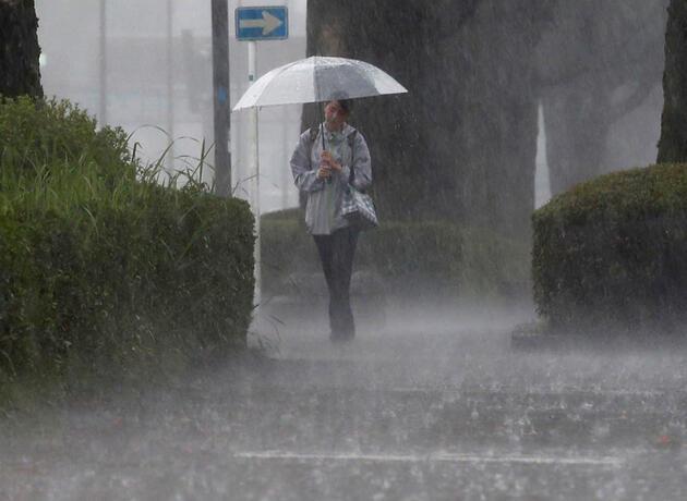 Japonya'da sel uyarısı: Binlerce kişiye tahliye emri