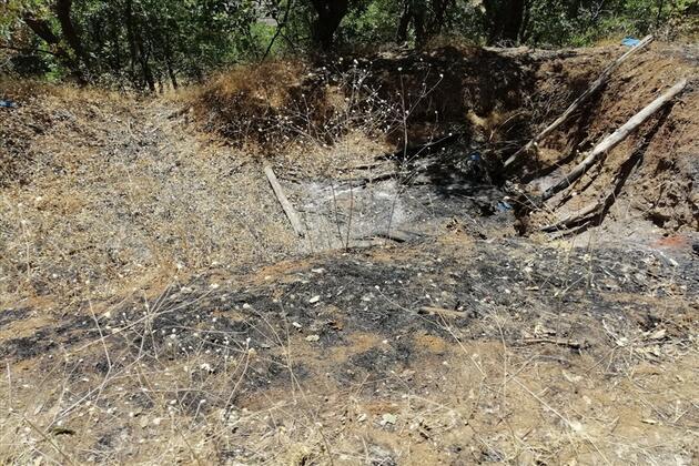 PKK'lı itiraf etti: Teröristlerin mağarası bulundu