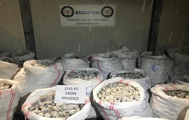 Rekor uyuşturucu iddianamesi tamamlandı