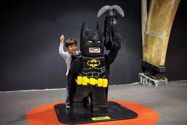 Kolombiya'da lego sergisi