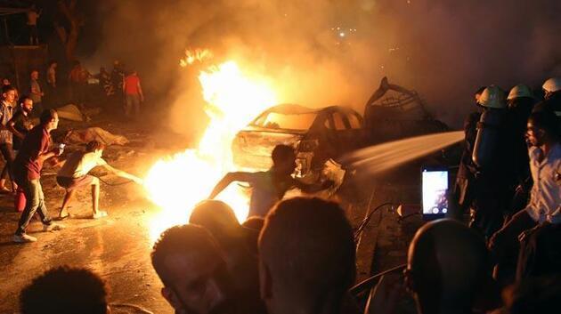 Mısır'da korkunç olay! 4 araç yandı, 16 ölü, 21 yaralı