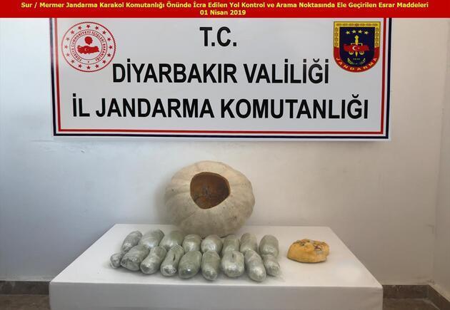 Diyarbakır'da bu yıl yaklaşık 15 milyon kök Hint keneviri ele geçirildi