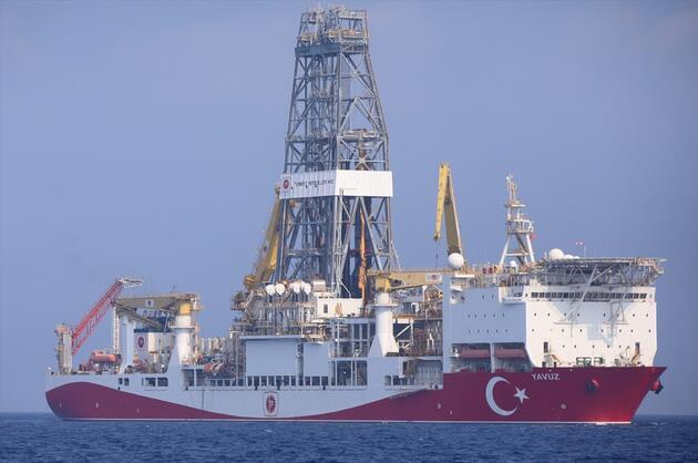 Yavuz, Doğu Akdeniz'de sondaja başladı