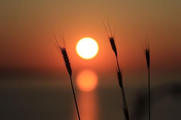 Türkiye'nin en kuzeyi Sinop'ta eşsiz gün batımı