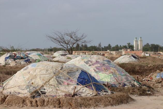 Rengarenk tuz konileriyle gezegeni andıran yarımada: Palmarin