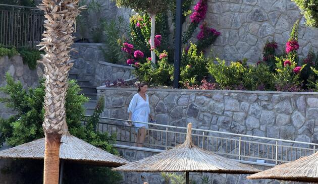 Norveç prensesi Louise Bodrum'da